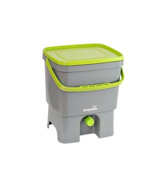 Plastika Skaza Bokashi Organico - Öko-Kompostbehälter - inkl. Gehirn grau-grün
