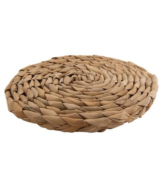 Cosy & Trendy Cattail - Coaster - D18xh1.5cm - Wood - (Set of 4)