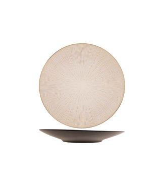 Cosy & Trendy Galassia-White - Dessertbord - D21,5cm - Keramiek - (set van 6)