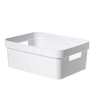 Curver Infinity Recycled Box 11l White35.6x26.6xh13.6cm (set of 6)