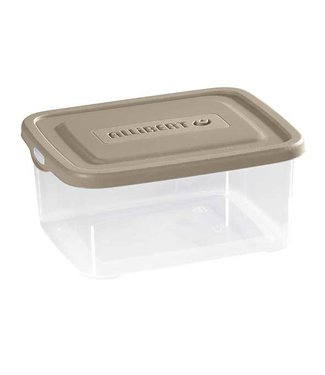 Curver Handy Box 2l 21.4x16.7x7.9cm Taupe-transparant