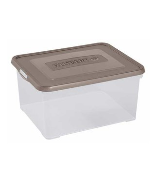 Curver Handy Box 35l 49x40x25cm Taupe-transparant