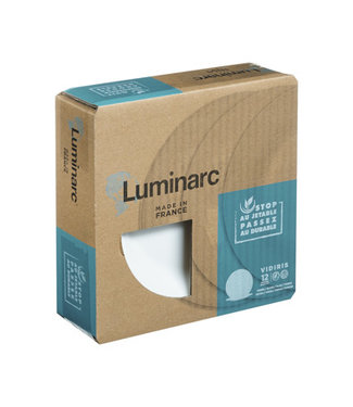 Luminarc Vidiris Diep Bord 22 Cm  Set12durable