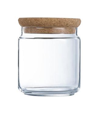 Luminarc Pure Jar Voorraadpot Kurk Deksel O,75ldurable