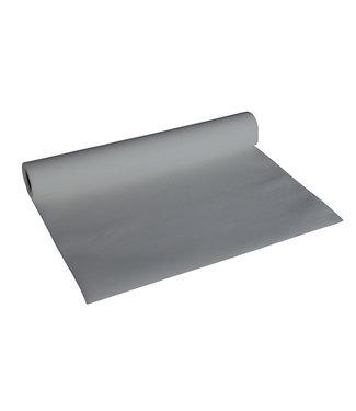 Brandless Tafelloper Grijs 0,4x4,8mpapier Textile-touch