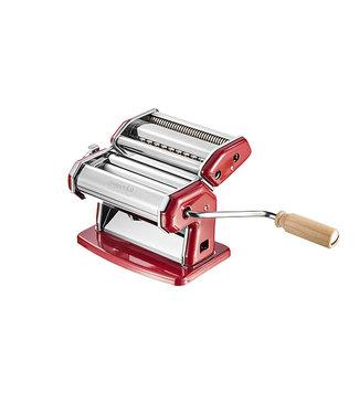 Imperia Ipasta La Rossa Pastamachine Rood Chroom20.5x18.5x17.5cm