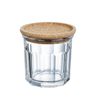 Luminarc Dry Storage Club - Jar with Cork Lid - 42cl - d9.7xh9.7cm - (set of 6).