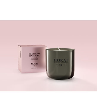 Horai Scented Candle Midnight Rambler 9,2x9,2xh9,1cm 365g Ppi 44.95 Euro