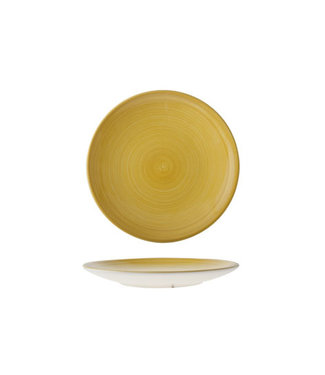 Cosy & Trendy Turbo Yellow Dessert Plate 22cm