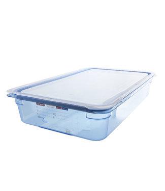 Araven Gnbox Blauw  Gn1-1 H100mm 13l-dekselairtight-bpa Free