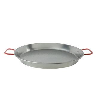 Cosy & Trendy Paella Pan D40 51x41xh5cm Polished Steel