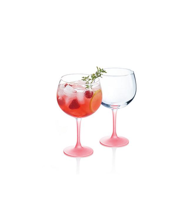 Luminarc Techno Summer Gin Glass Corail 70cl (set of 6)