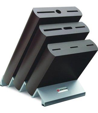 WUSTHOF Bloque de cuchillos Wüsthof para 9 piezas negro