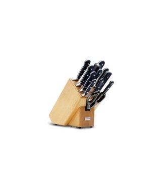 WUSTHOF Bloque de cuchillos Wusthof Classic con 12 partes 9846