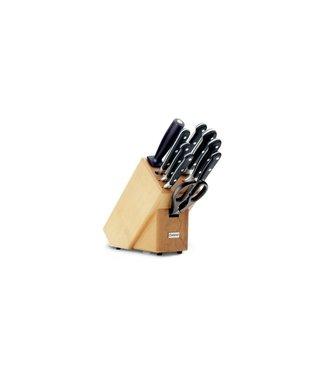 WUSTHOF Bloque de cuchillos con 9 piezas.
