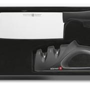 WUSTHOF Chinesisches Kochmesser & Messerschärfer SILVERPOINT - 9811