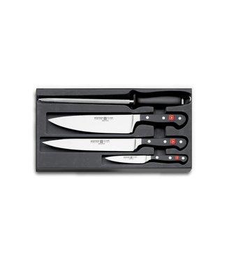 WUSTHOF Juego de cuchillos de cocinero CLASSIC 4 piezas - 9750