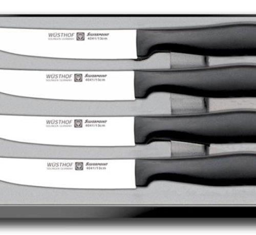 WUSTHOF SILVERPOINT 4-teiliges Steakmesserset - 9634