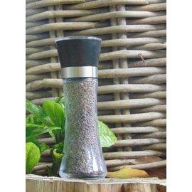 """NATURAL BIO STORE Finest Selection Black Himalayan Salt """"Kala Namak"""" Salt grinder 180g"""