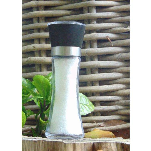 NATURAL BIO STORE Finest Selection Sel du Désert de Kalahari, Moulin à Sel de verre 180 grammes
