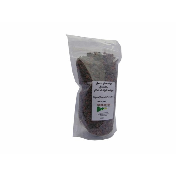 "NATURAL BIO STORE Finest Selection Zwart Himalayazout ""Kala Namak"" (grof) 450 gram"