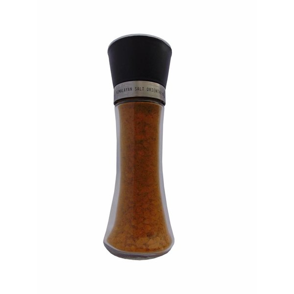 NATURAL BIO STORE Finest Selection Himalayan Salt with Herbs Oriental Salt Grinder 200g