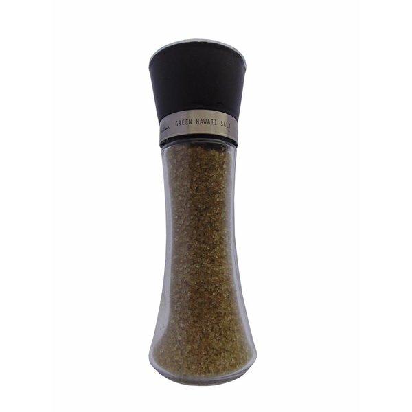 NATURAL BIO STORE Finest Selection Salt Grinder Green Hawaiian Salt 200g