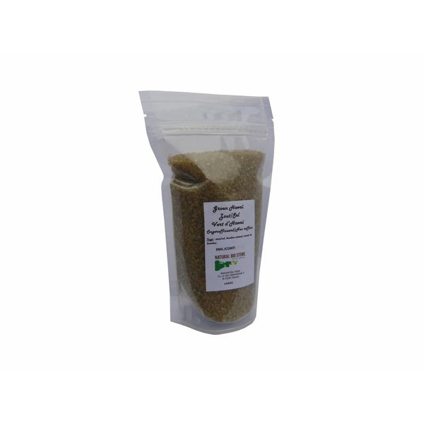 NATURAL BIO STORE Finest Selection Green Hawaiian Salt 450 grams (sealed resealable bag)