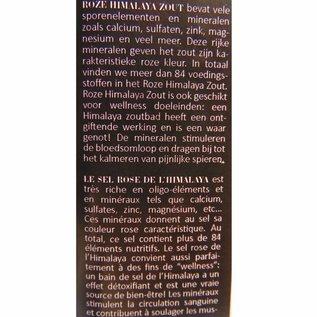 Sel Rose de l'Himalaya Fin 1700 grammes Pot