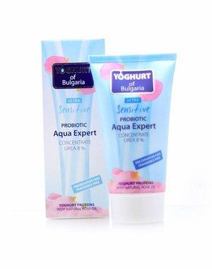 YOGHURT OF BULGARIA Crème Hydratante sans Parabènes, Aqua Expert Moisturizer 150ml