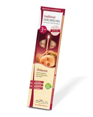 BIOSUN  Ear Candles 6 pieces