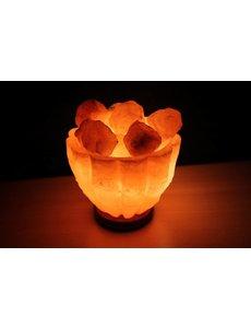 NATURAL BIO STORE Finest Selection Himalayan Salt Lamp Bowl