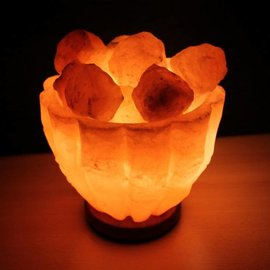 NATURAL BIO STORE Finest Selection Himalayan Salt Lamp Bowl