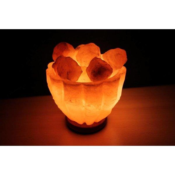 NATURAL BIO STORE Finest Selection Himalayan Salt lamp Bowl +/-3,7kg