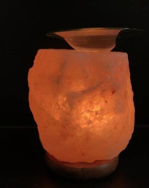 NATURAL BIO STORE Finest Selection Himalayan Salt Block Aroma Burner