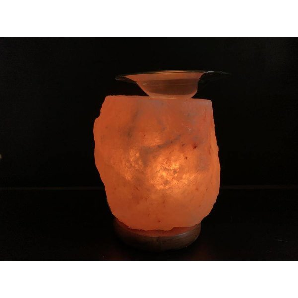 NATURAL BIO STORE Finest Selection Himalayan Salt Stone Aroma Burner