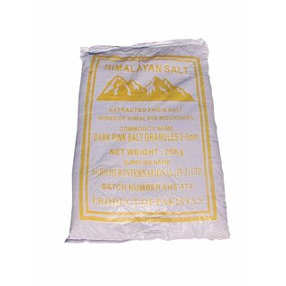 NATURAL BIO STORE Finest Selection Sac Sel Rose de l'Himalaya gros cristaux 25kg (2-5mm)