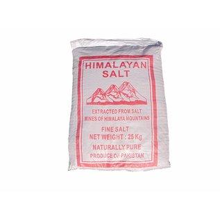 NATURAL BIO STORE Finest Selection Zak Roze Himalaya Zout Fijn 25kg