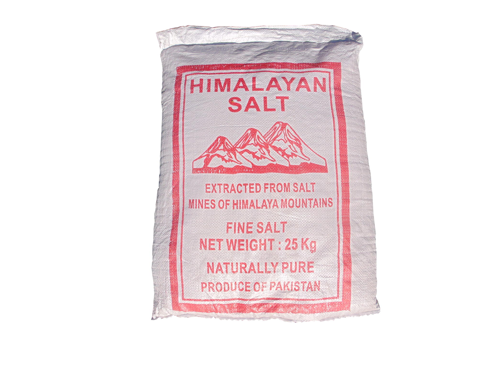 Pink Himalayan salt fine 25kg