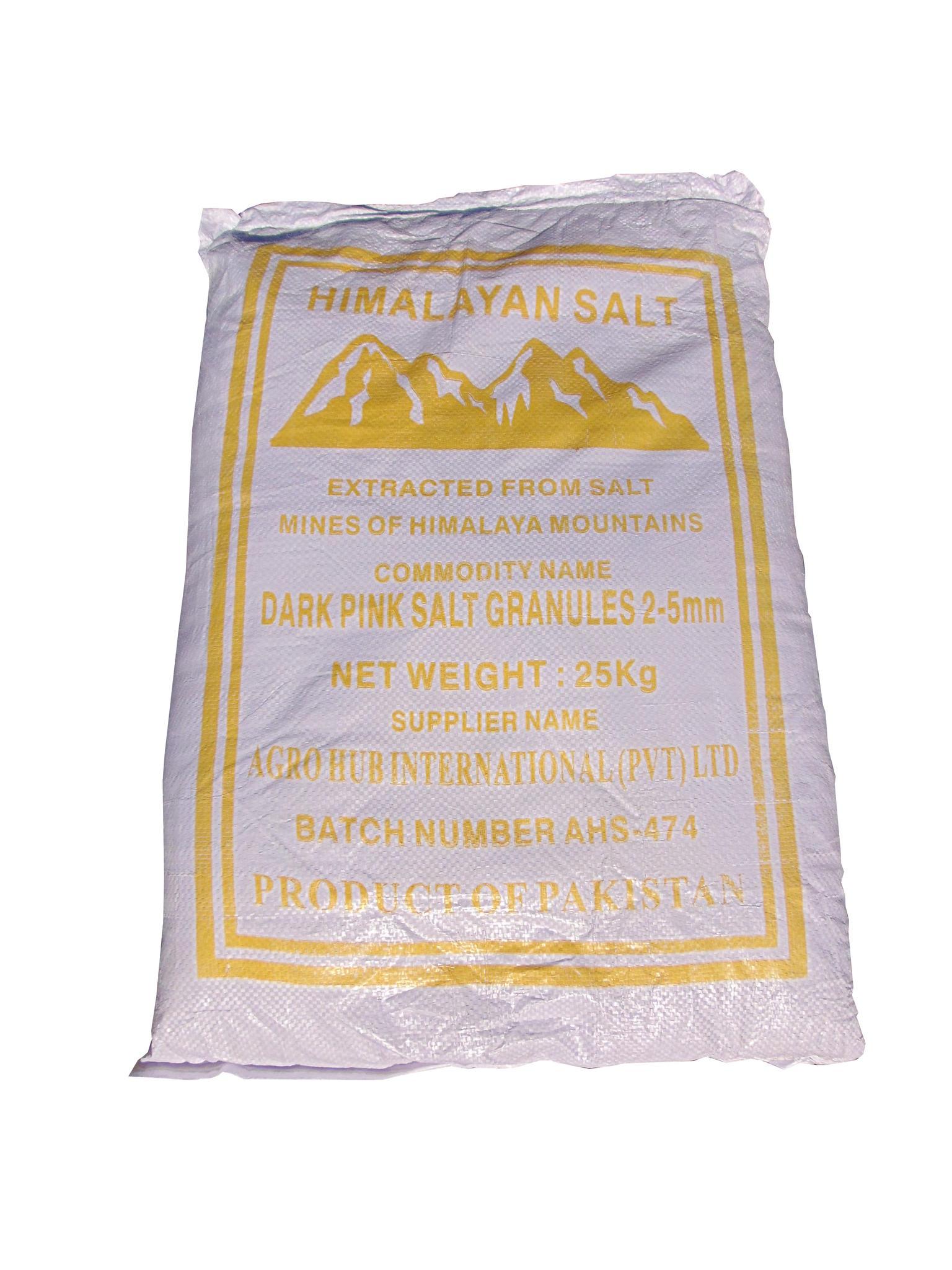 sel de l'Himalaya rose grossier 25kg