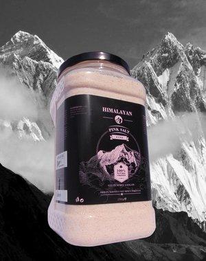 NATURAL BIO STORE Finest Selection Roze Himalayazout Fijn 1700g