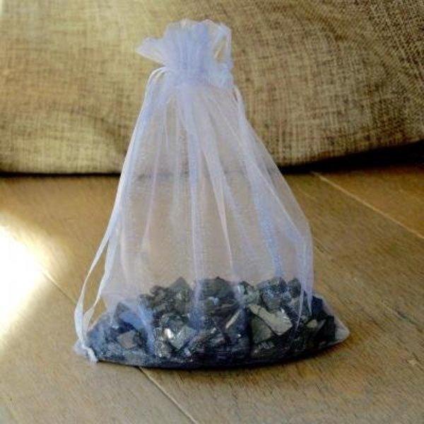 NATURAL BIO STORE Finest Selection Watervitalisatie Edel Shungiet, zakje 75 gram