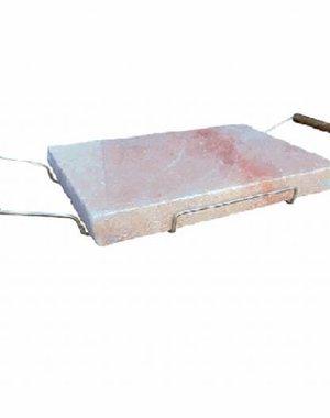 NATURAL BIO STORE Finest Selection Planche à Sel de l'Himalaya 30x20cm avec support