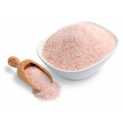 Pink Himalayan Salt fine 450 grams (sealed & resealable stand-up pouch)