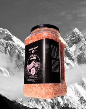 NATURAL BIO STORE Finest Selection Pink Himalayan salt Coarse 1700g