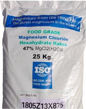 NATURAL BIO STORE Finest Selection Flocons de Magnésium de l'Himalaya 25kg