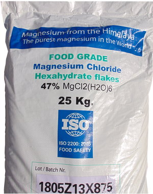 NATURAL BIO STORE Finest Selection Himalayan Magnesium Flakes 25kg
