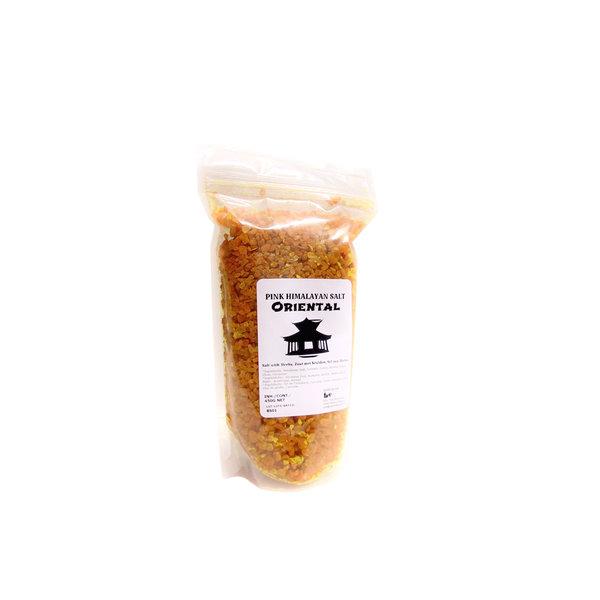 NATURAL BIO STORE Finest Selection Roze Himalayazout Oriental 450 gram (hersluitbaar verzegeld zakje)