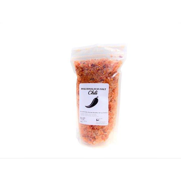 NATURAL BIO STORE Finest Selection Roze Himalayazout met Kruiden, Chili 450 gram (hersluitbaar zakje)