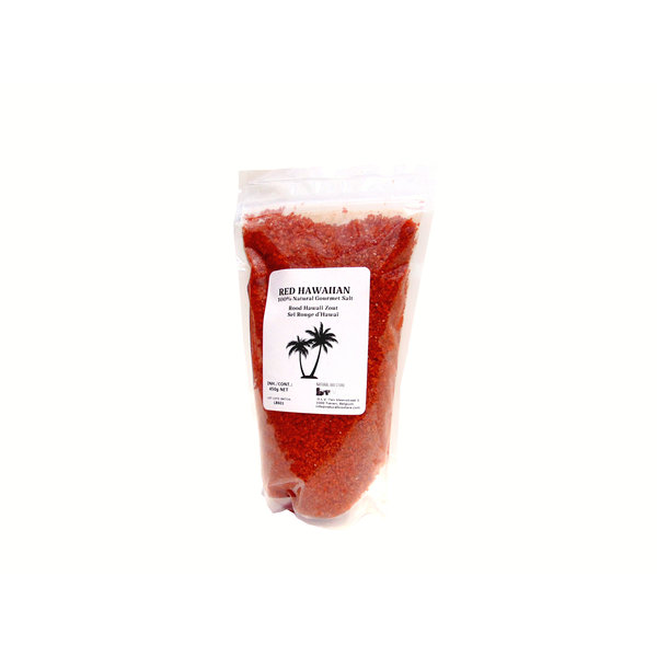 NATURAL BIO STORE Finest Selection Red Hawaiian Salt 450 grams